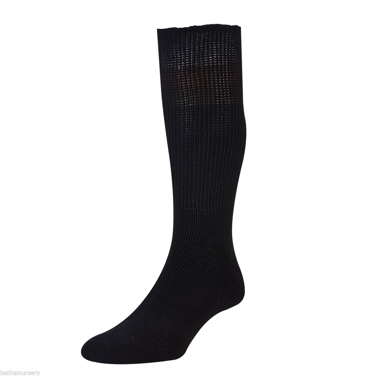 HJ Hall Diabetic Cotton Socks size 11-13 Black HJ1351