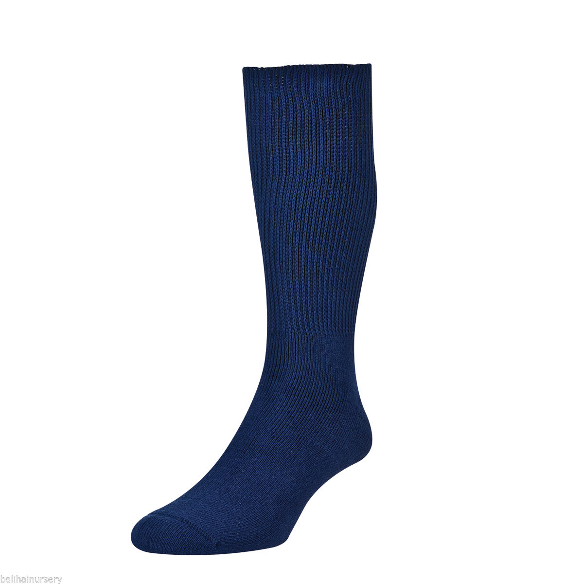 HJ Hall Diabetic Cotton Socks size 6-11 Navy HJ1351