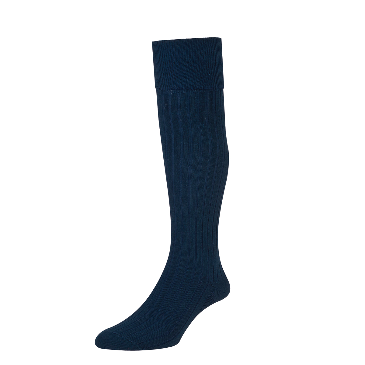 HJ Hall Mens Bermuda Golf Socks size 6-11 Navy HJ166