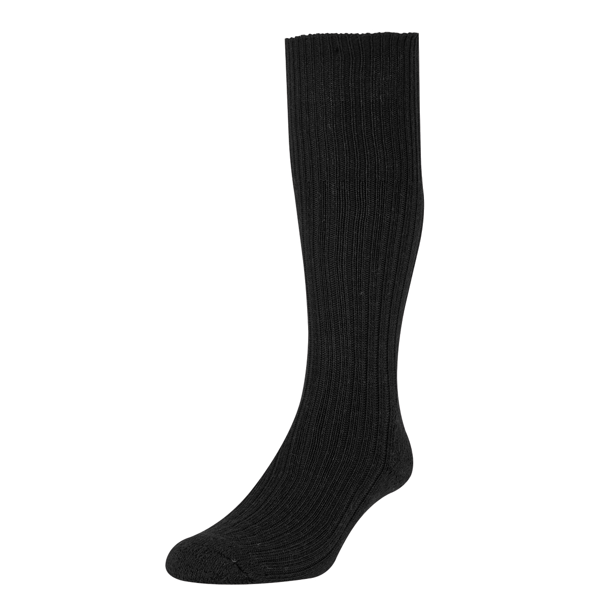 HJ Hall Commando Wool Socks, 11-13 UK Black 12 pairs HJ3000