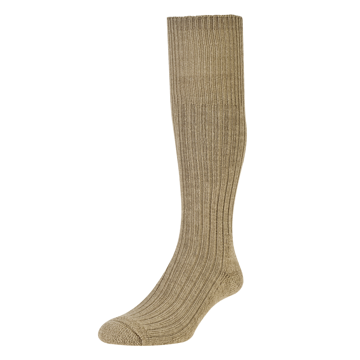 HJ Hall Commando Wool Socks, 6-11 UK Granary 12 pairs HJ3000