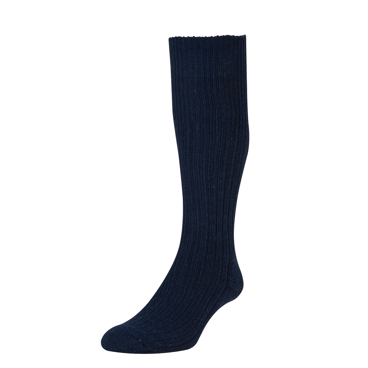 HJ Hall Commando Wool Socks, 6-11 UK Navy 12 pairs HJ3000