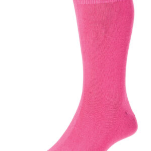 HJ Hall Fashion Colours Socks size 6-11 Fuschia HJ48