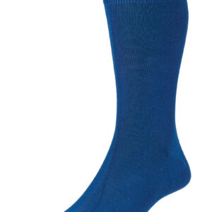 HJ Hall Fashion Colours Socks size 6-11 Royal HJ48