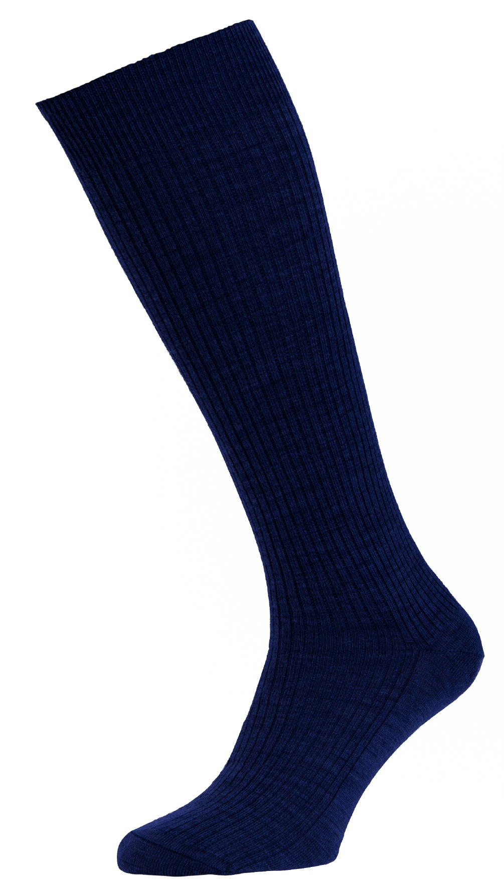 HJ Hall Immaculate Long Knee length Mens Socks size 6-11UK Navy HJ77