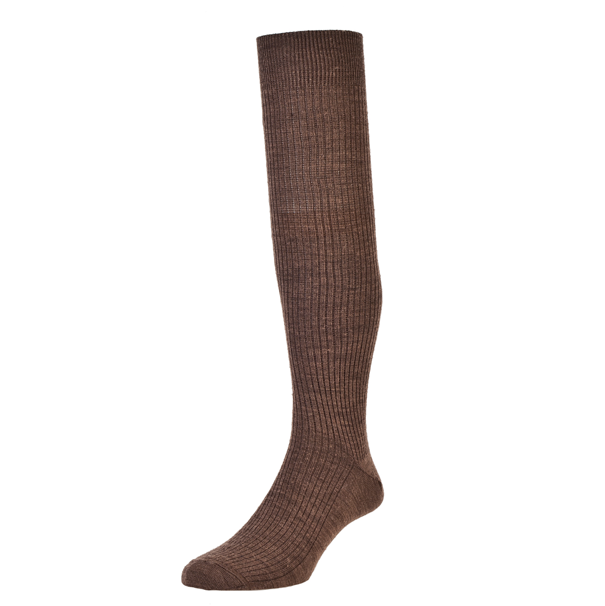 HJ Hall Immaculate Long Knee length Mens Socks size 6-11UK Taupe HJ77