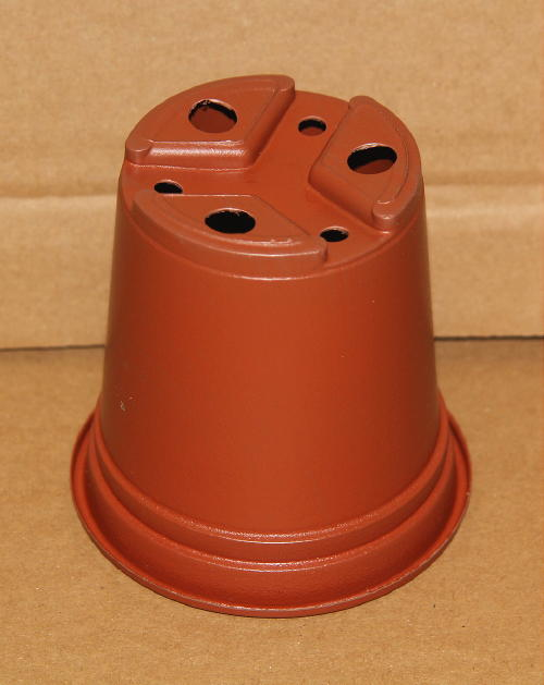 50 x 9cm fullsize terracotta plastic pots plantpak 9FZ light weight pots