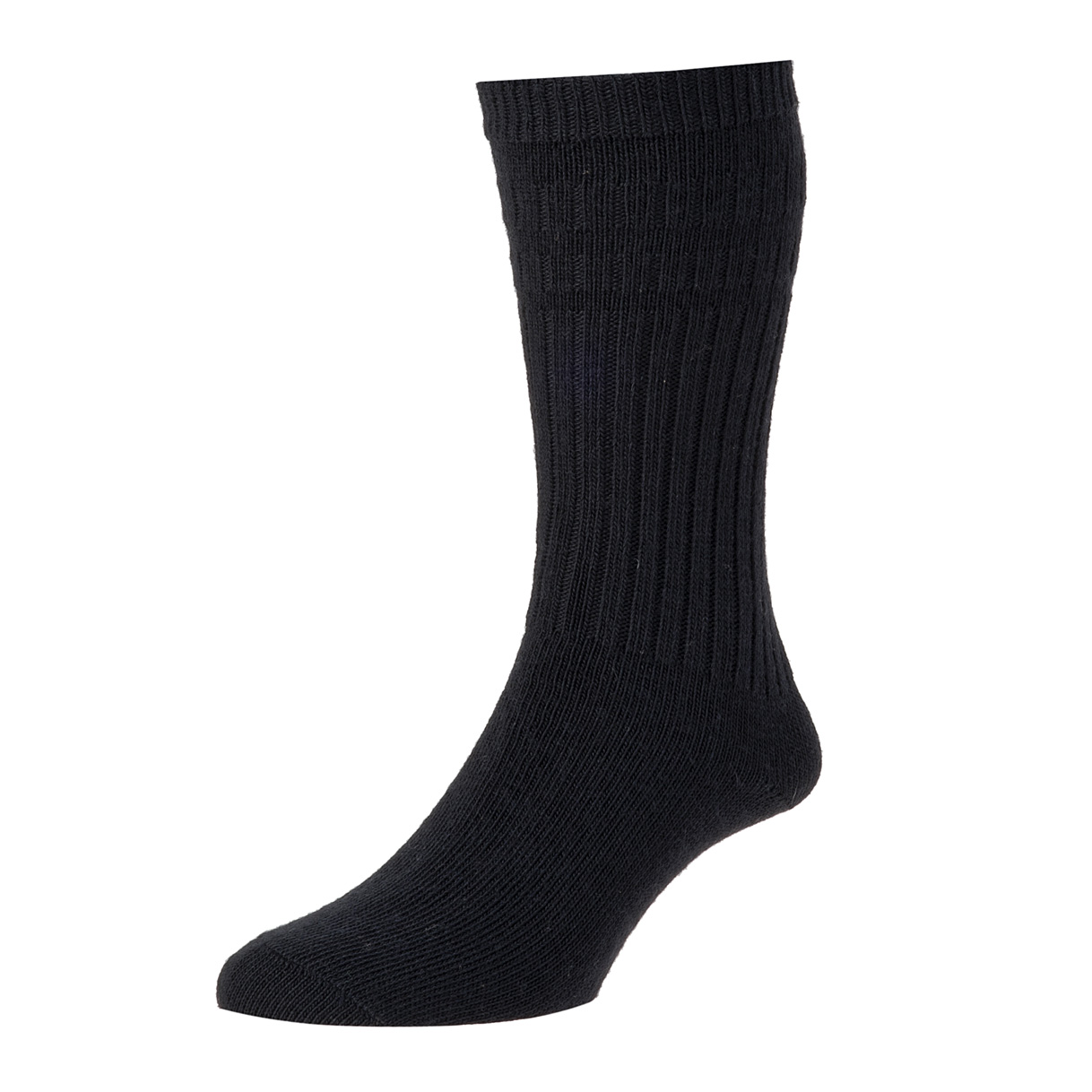HJ Hall Softop Thermal Mens Socks size 11-13UK Black HJ95
