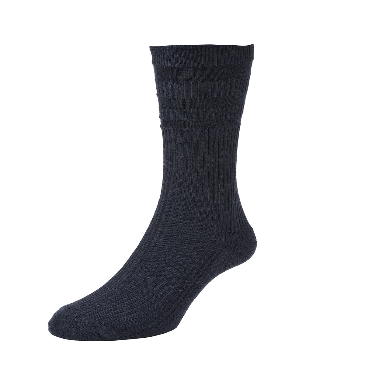HJ Hall Softop Thermal Mens Socks size 11-13UK Dark Navy HJ95