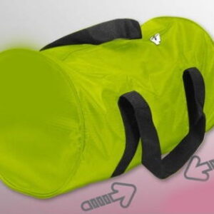 Cabin luggage holdall, sports bag, green 46cm X 28cm X 28cm