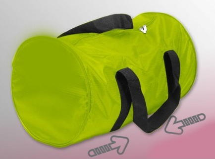 Cabin luggage holdall, sports bag, green 46cm X 28cm X 28cm