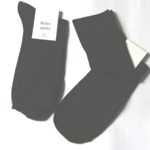 Pingons Relax Socks Cotton size 8-11,  2 Pairs of black Diabetic Socks